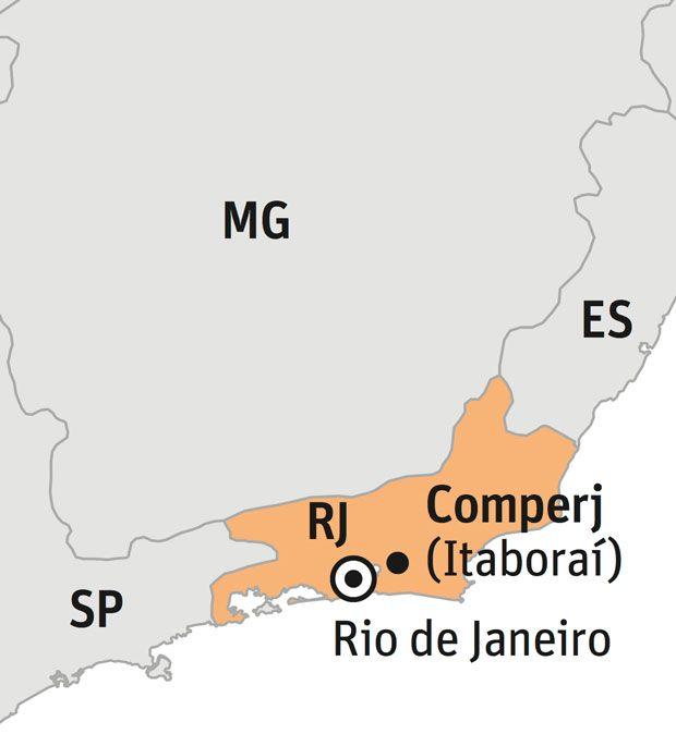 Comperj, complexo da Petrobras no Rio, é tomado por ferrugem e alvo de furtos. Por Nicola Pamplona e Lucas Vettorazzo