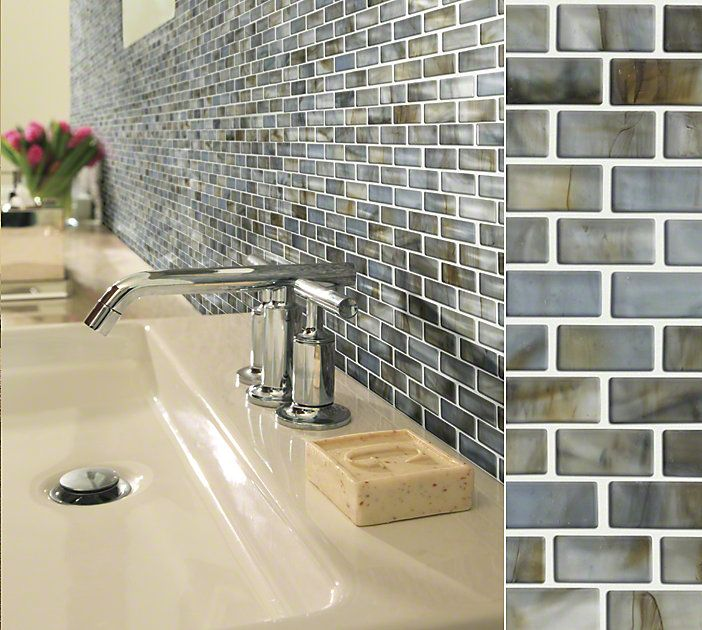 Kitchen Backsplash With Glass Tile Accents: 65 Best Images About Backsplash & Accent Pieces On Pinterest