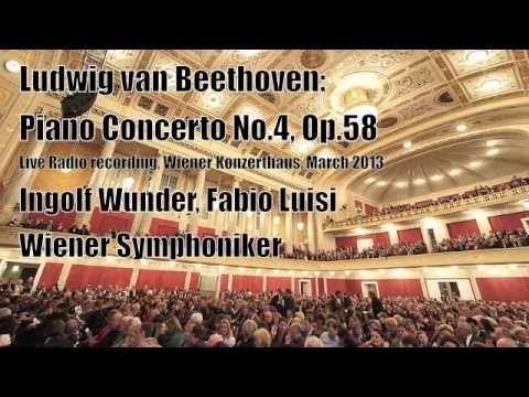 Ingolf Wunder (Vienna Konzerthaus, 2013) - Beethoven, Piano Concerto No. 4 (part 1/3)