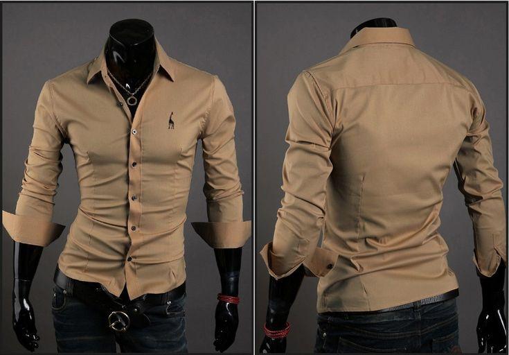 Camisa Casual Clasica Night Style - Khaki