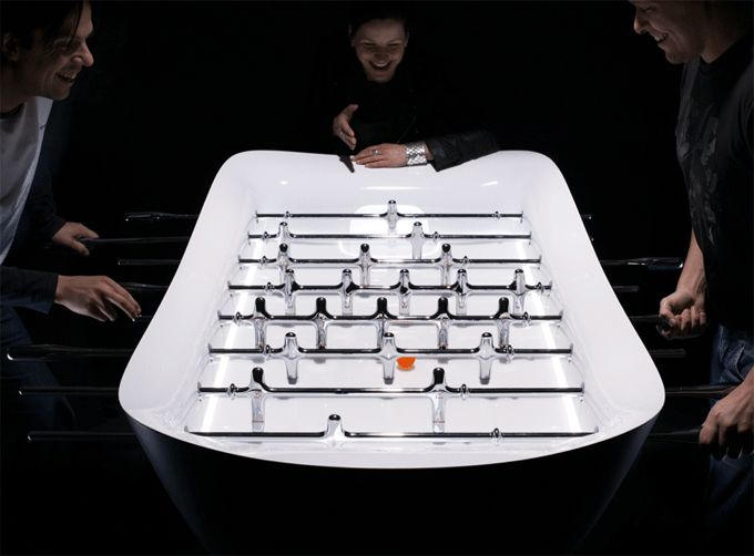 sleek and sexy foosball!