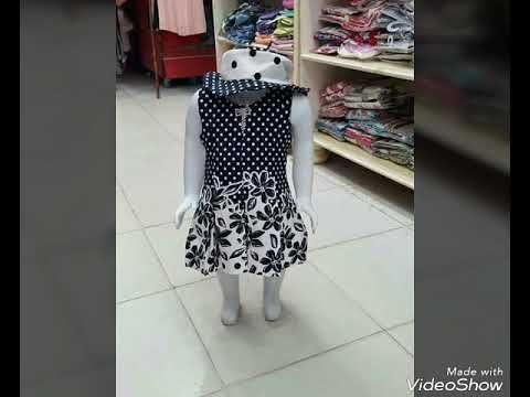 dc67ae4c80c0f YouTubeملابس العيد للاطفال بناتي صيف ❤2018