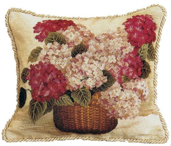 needlepoint pillow