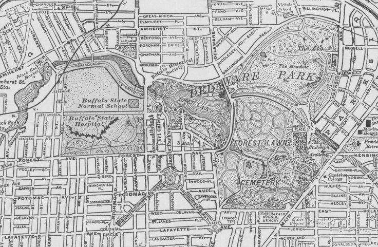 17 Best Ideas About Buffalo Ny Map On Pinterest  Niagara