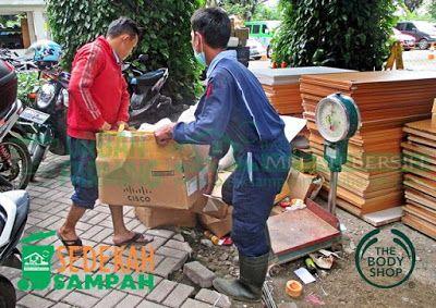 Bank Sampah Melati Bersih: Laporan Sedekah Sampah The Body Shop Indonesia