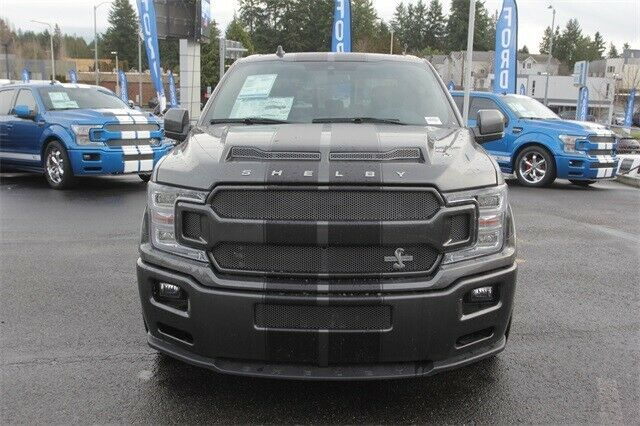 Used 2019 Ford F 150 Lariat New Gray Black Shelby Super Snake F 150 For Sale 2020 Is In Stock And For Sale 24carshop Com Super Snake Ford F150 Shelby Truck