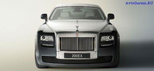 Rolls Royce Ghost - вид спереди (2012)