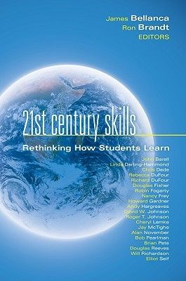 PRO 370.1623 TWE This anthology introduces the Framework for 21st Century Learning from the Partnership for 21st Century Skills as a way to re-envision learning and prepare students for a rapidly evolving global and technological world. Highly respected education leaders and innovators focus on why these skills are necessary, which are most important, and how to best help schools include them in curriculum and instruction.