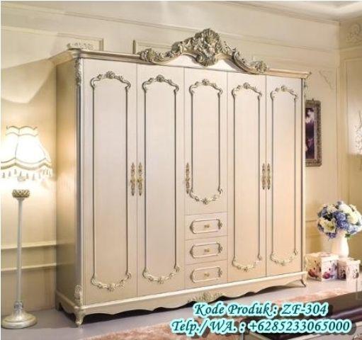 Lemari Baju odel Klasik Modern Pintu 5 http://www.zahirartfurniture.com