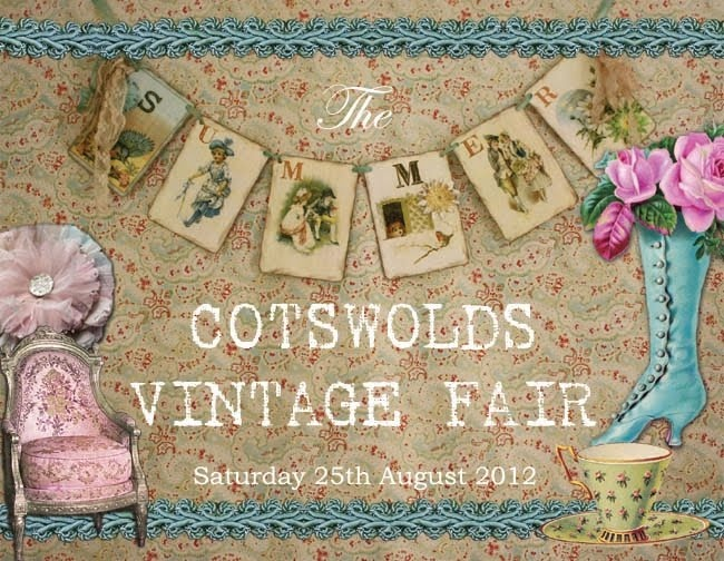 The Cotswolds Vintage Fair organised by www.bettyandviolet.com