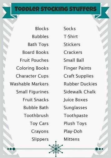 Over 125 Stocking Stuffer Ideas for All Ages - Views From the 'Ville