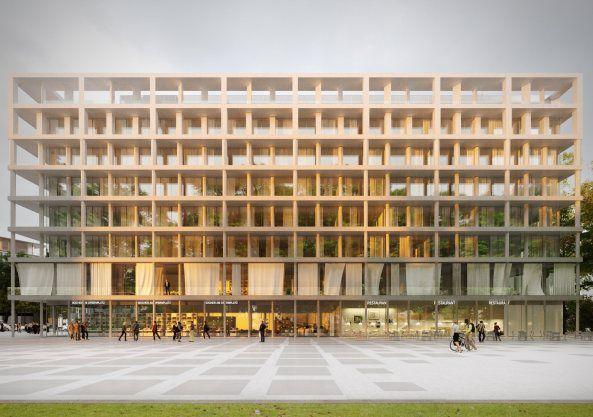 Opernplatz Frankfurt, Allmann Sattler Wappner Architekten
