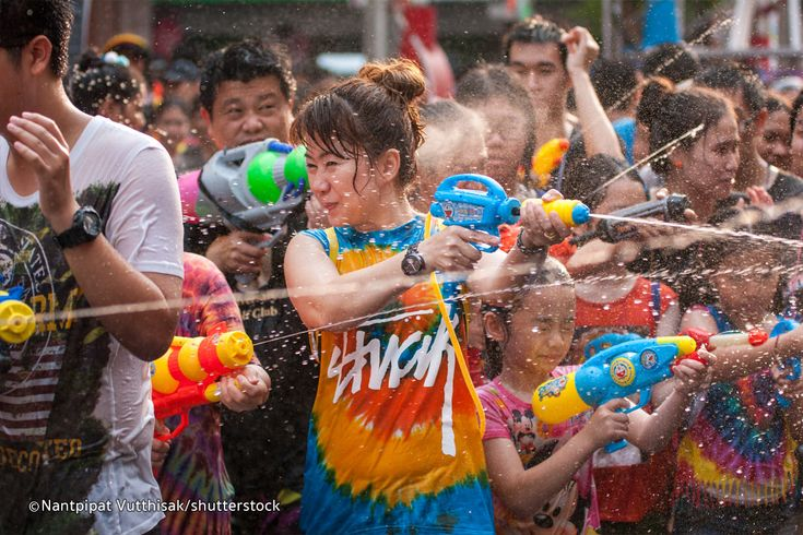 Coming to Phuket during April? Then you're in for a big surprise if you're here from April 13 – 15. This is the time of the Thai celebration of New Year, Songkran – an event that marks the beginning of the solar calendar (it translates as