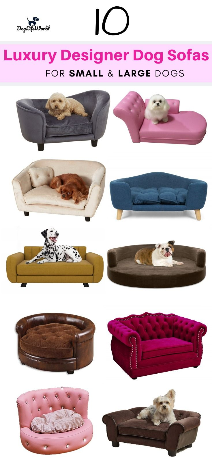 Top 10 Dog Sofa Beds On Amazon Luxury Dog Couch Dog Sofa Bed