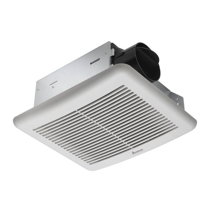 Picture Collection Website Delta Electronics SLM CFM Single Speed Breez Slim Ventilation Fans SLM Grey