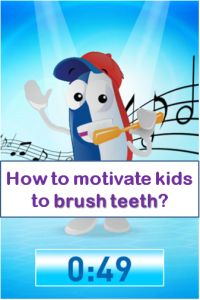 Free App that will get kids motivated brushing teeth everyday for 2 minutes #kidsapps #FreeApps