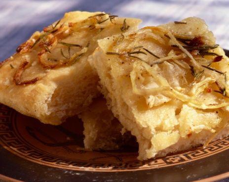 onion recipes | Caramelized Onion Flatbread Recipe