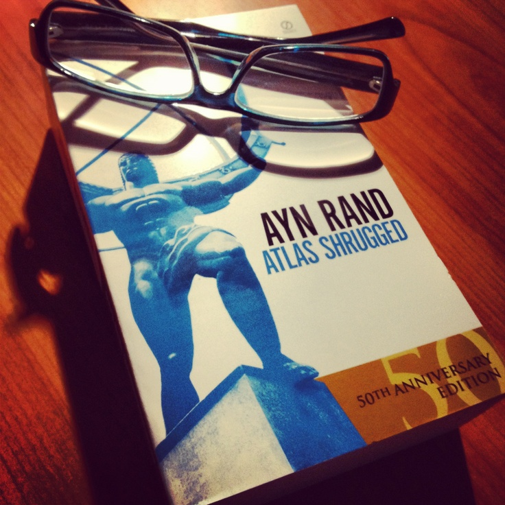 This is my copy and yes, it's 9pt font required glasses... Atlas Shrugged ~ Ayn Rand