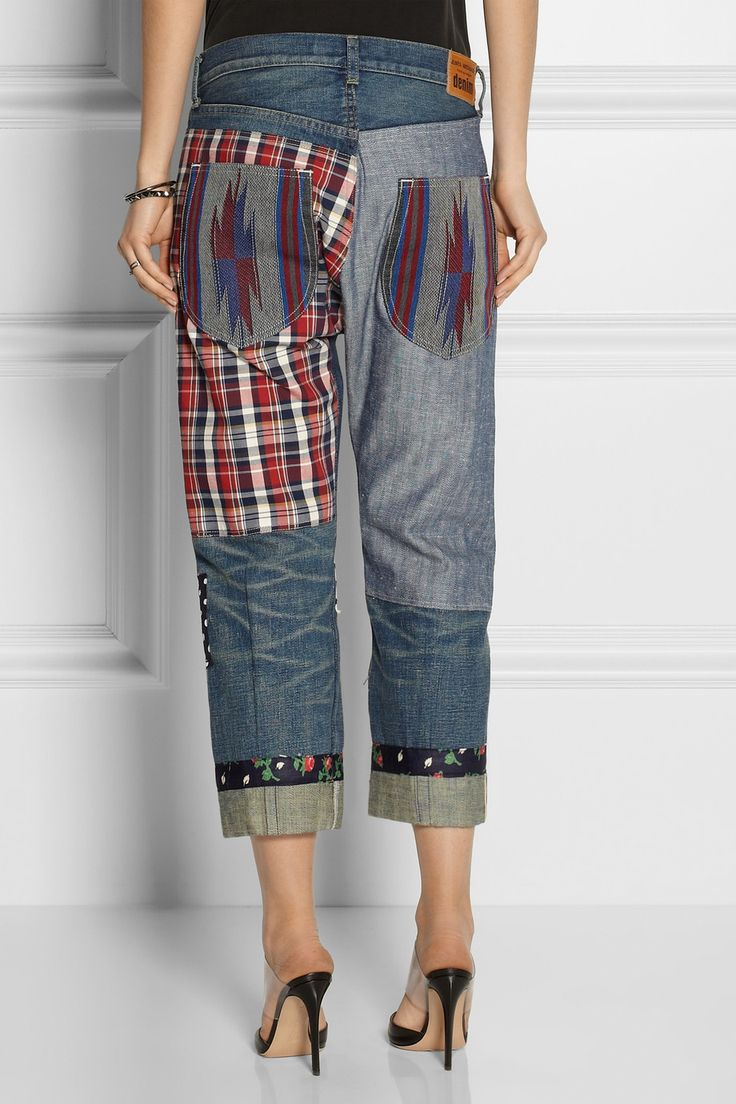 Junya WatanabePatchwork Jeans (back)