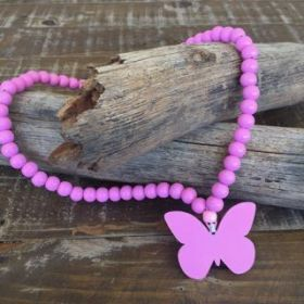 Butterfly Necklace | Pink #oliverthomas #zavthebrave #butterfly #girlsnecklace #necklace #kidswear #kidsnecklace