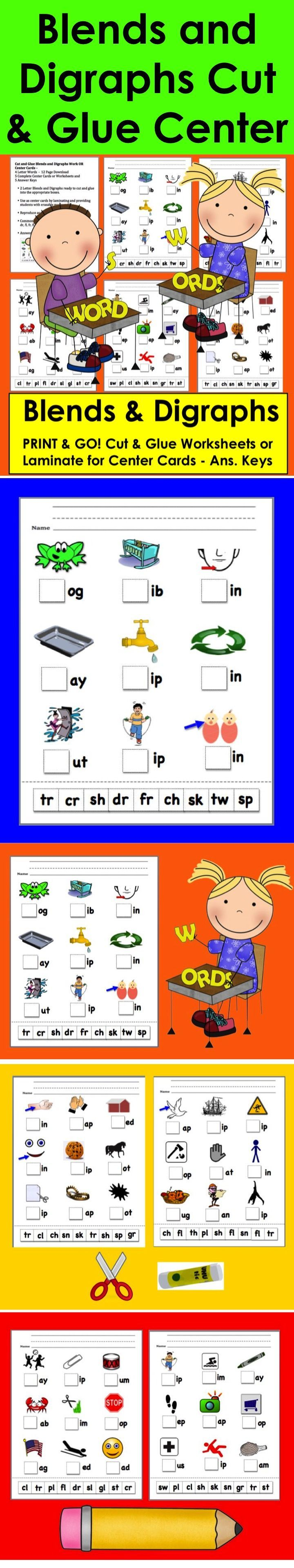 The 25+ best Digraphs worksheets ideas on Pinterest | Phonics ...