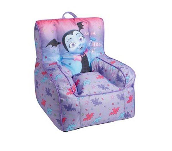 Vampirina Bean Bag Plush Toy Kid Toddler Bedroom Furniture ...