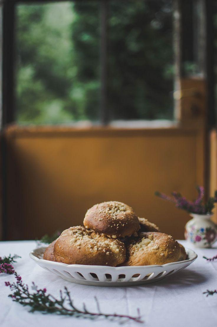 Drożdżowe bułki na śniadanie