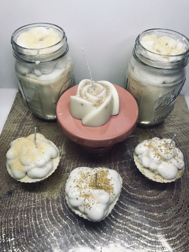 Cake battercandles cupcake candles bundt cake desert
