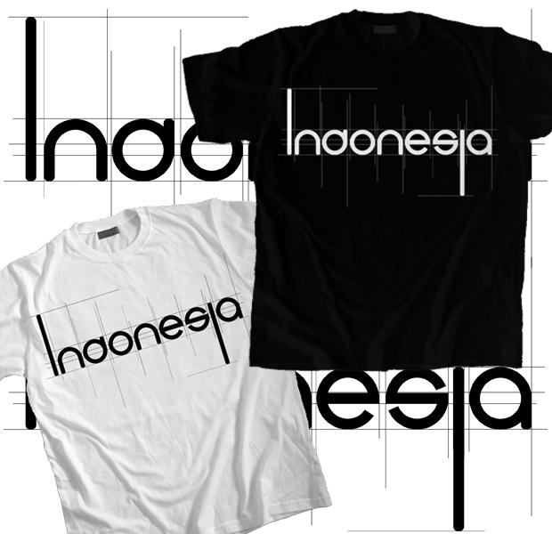 Indonesia - Black T-Shirt