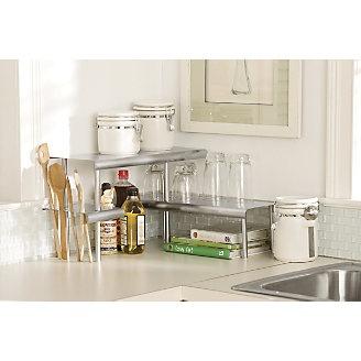 Countertop Shelf : Shelves, Countertops and Corner shelves on Pinterest