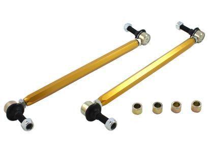 Whiteline 2009-2011 VW CC/ 2012-2014 VW Beetle/ 2000-2009 Audi TT/ 2006-2012 Audi A3 Front Heavy Duty Adjustable Sway Bar Link Kit Assembly