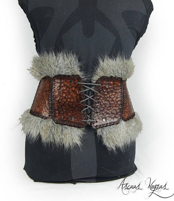 Tribal Corse tribal female leather corse belt. viking belt. female armor