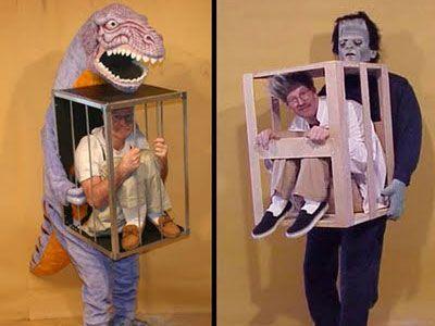 Caged Man Halloween Costumes