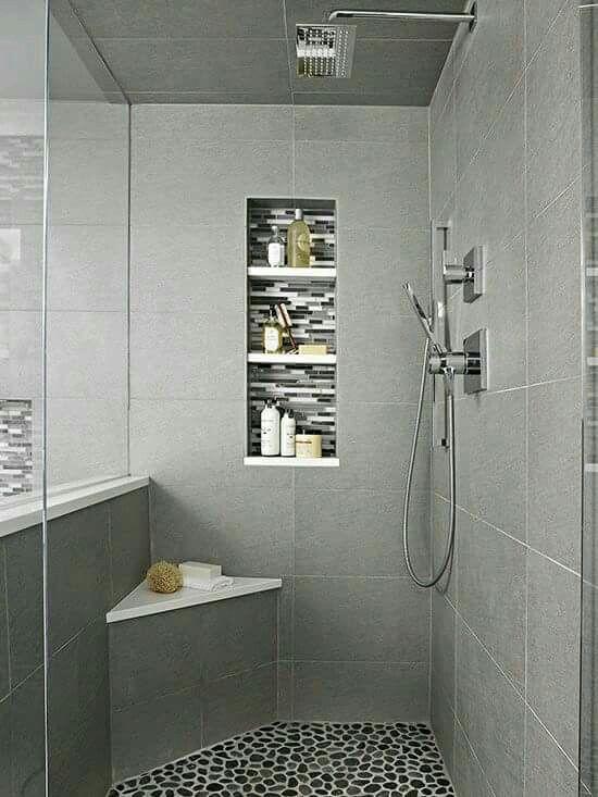 Las 25 mejores ideas sobre regaderas modernas en - Cuartos de bano pequenos modernos ...
