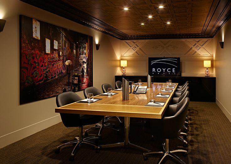 Royce Hotel Boardroom - The Talbot Room - Royce Hotel Melbourne Conference Venue - Melbourne Wedding Venue