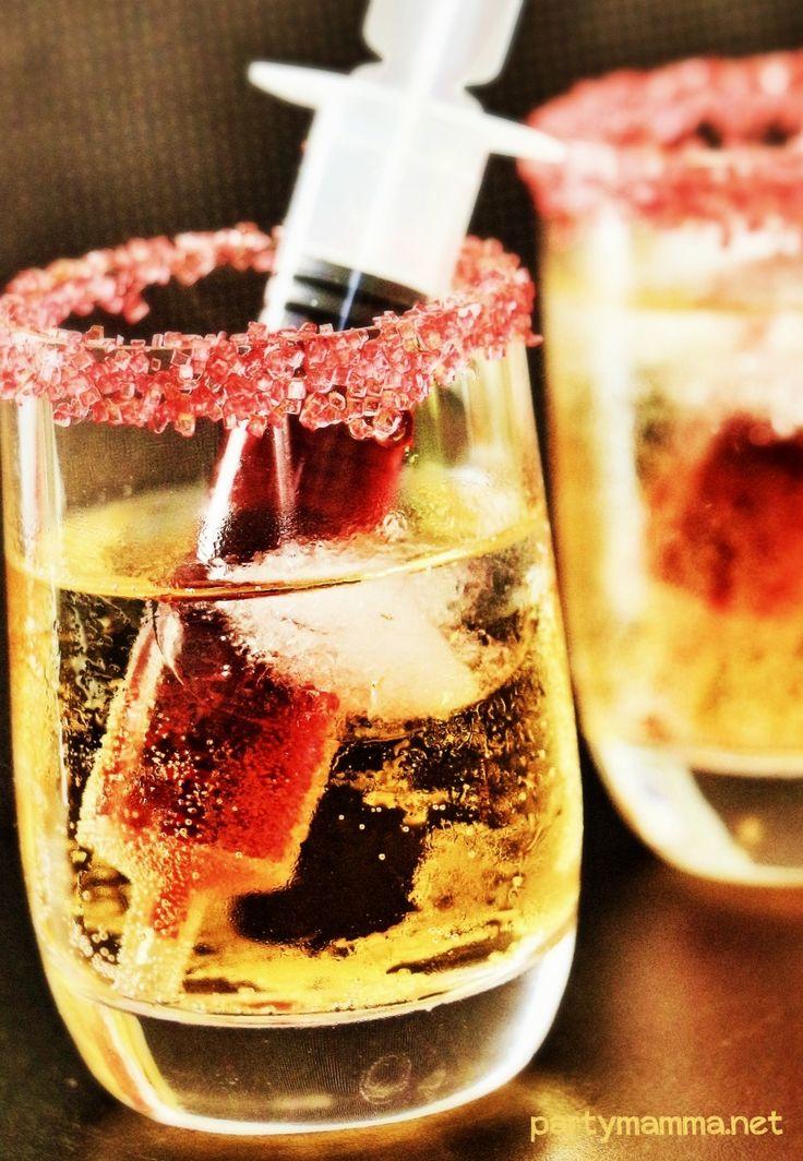 Dracula's Spritz shot... un aperitivo da PAURA!! Sul blog!