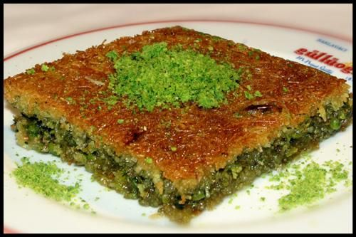 Kadayif - an amazing Turkish dessert