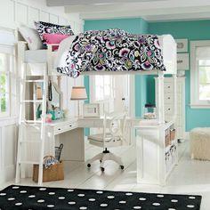 Teenage Girl's Bedroom Idea