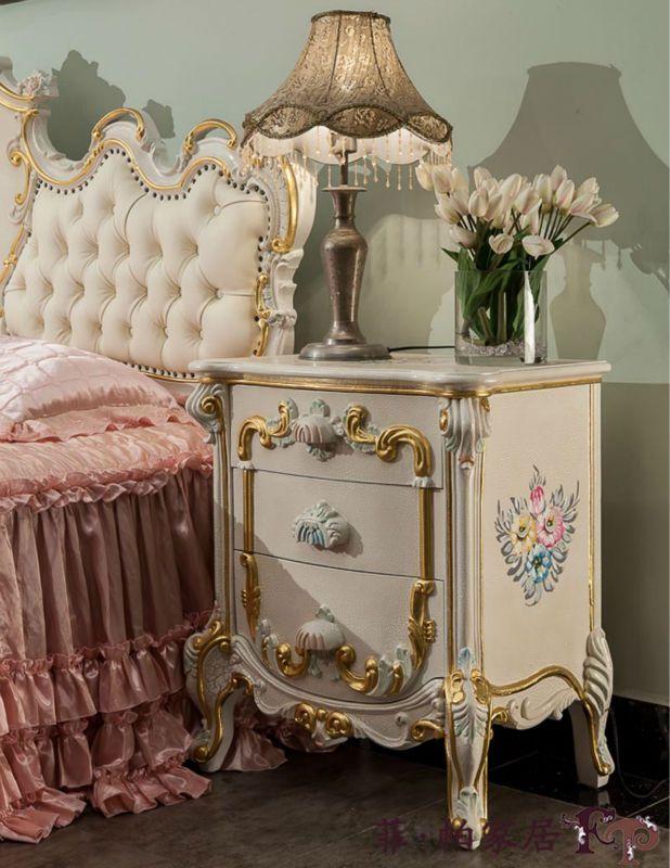 Rococo mesas de cabeceira estilo- mobiliário clássico antigo bedstand - portuguese.alibaba.com