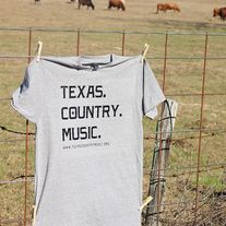 Texas. Country. Music. // -Shirt  If you love Texas and Country Music, this is a must have!  All proceeds support the Texas Country Music Association's efforts to promote Texas Country Music Artists.   --All T-Shirts are made with high quality heat transfer vinyl  --Shirt Brand : Tul-Tex 2...