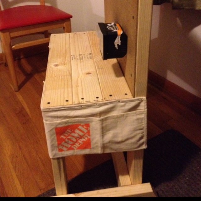 Toddler tool bench...made by dad! tutorial soon...
