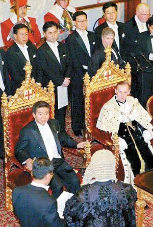 오늘의유머 - [BGM] 조중동이 감춘 노무현대통령 영국왕실 초청 방문기