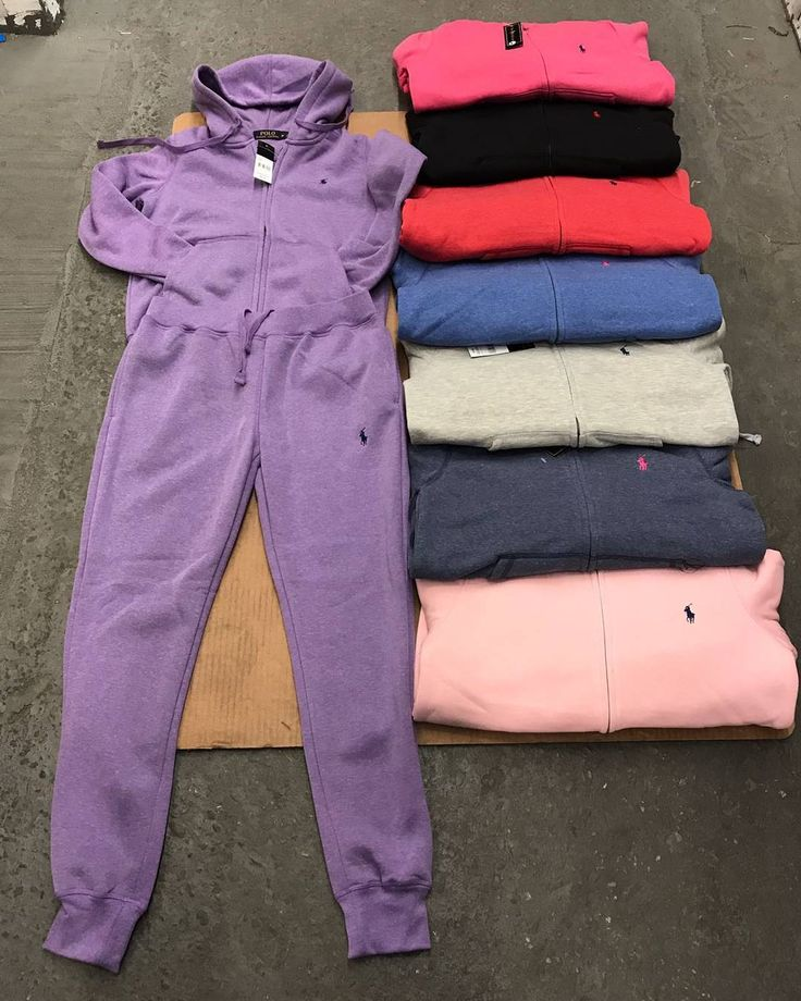 LADIES POLO JOGGING SUIT $80 SIZES SM- 2XL
