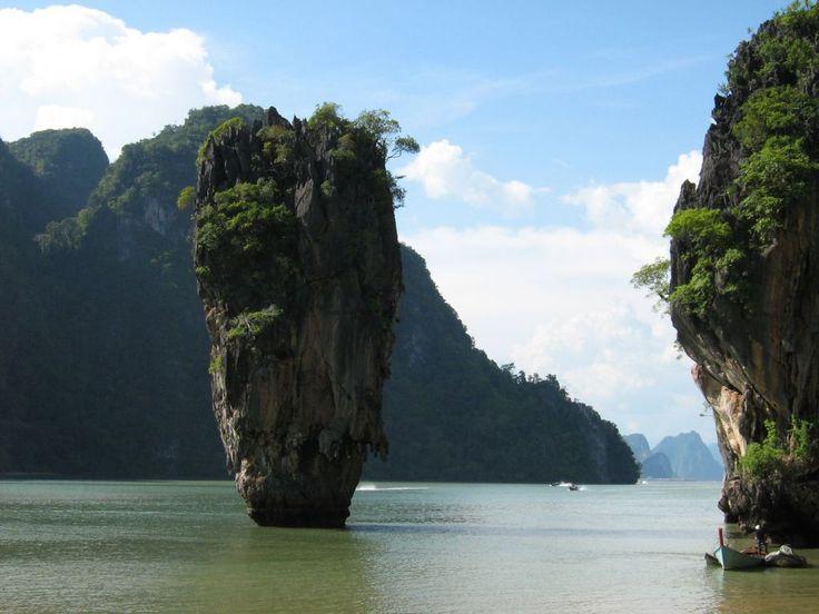 """""""James Bond""""-Felsen in der Phang Nga Bucht"""