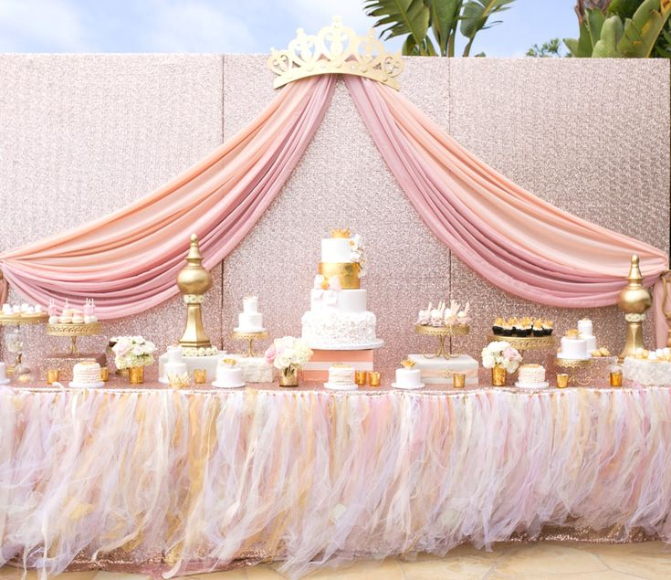 What makes a great princess baby shower party? This is your day to…