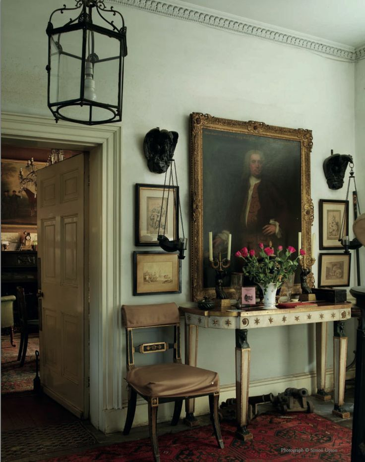 vignette in home of Sir Albert Richardson (1880-1964), leading English…