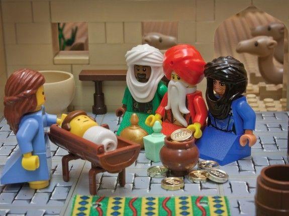 Waarom kerst 2015 het kerstverhaal in lego verbeeld door Brendan Powell Smith spirituele Kerst.012