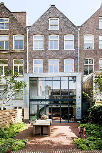 Complete verbouwing en inrichting herenhuis. Bekijk meer foto's van dit interieur op Walhalla.com