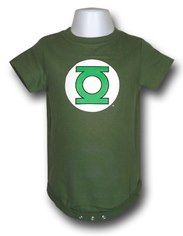 Green Lantern Infant Snapsuit...Too cute!