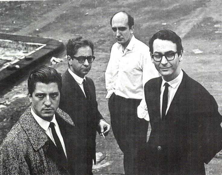 Rómulo Macció, Ernesto Deira, Yuyo Noé y Jorge de la Vega. La nueva figuración.